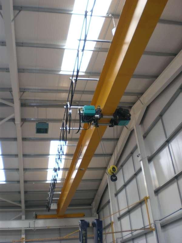 Overhead Crane Beam Design : Single girder top running crane