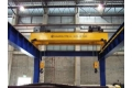 Double girder overhead travelling crane.